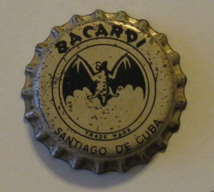 eerste bacardi kroonkurken van cuba  ca. 1905